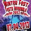 WINTERFEST 2013 CANCELLED